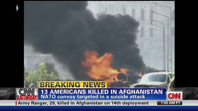 Afghan suicide attack claims U.S. lives