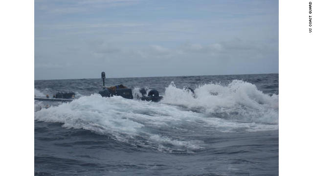 Watch the US Coast Guard board carrying Narco-sub carrying 17,000 pounds of cocaine