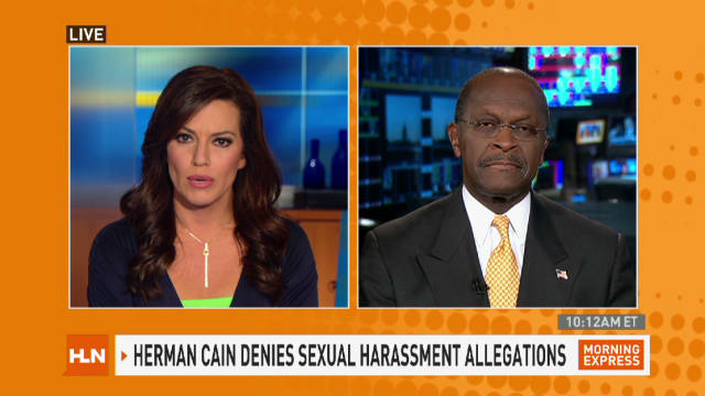 Herman Cain denies harassment claims