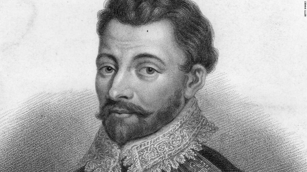 English explorer and adventurer Sir Francis Drake is known as a pirate of his time and an enemy of the Spanish.