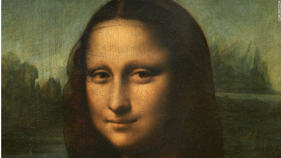 "Mystery surrounds the identity of the ""Mona Lisa,"" with some people positing that the smiling figure is in fact a self-portrait of Leonardo da Vinci himself, while others believe it was a coded portrait of a male associate."