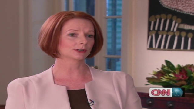 Gillard on becoming prime minister