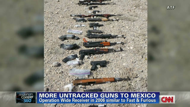 Report: Untracked guns sent to Mexico