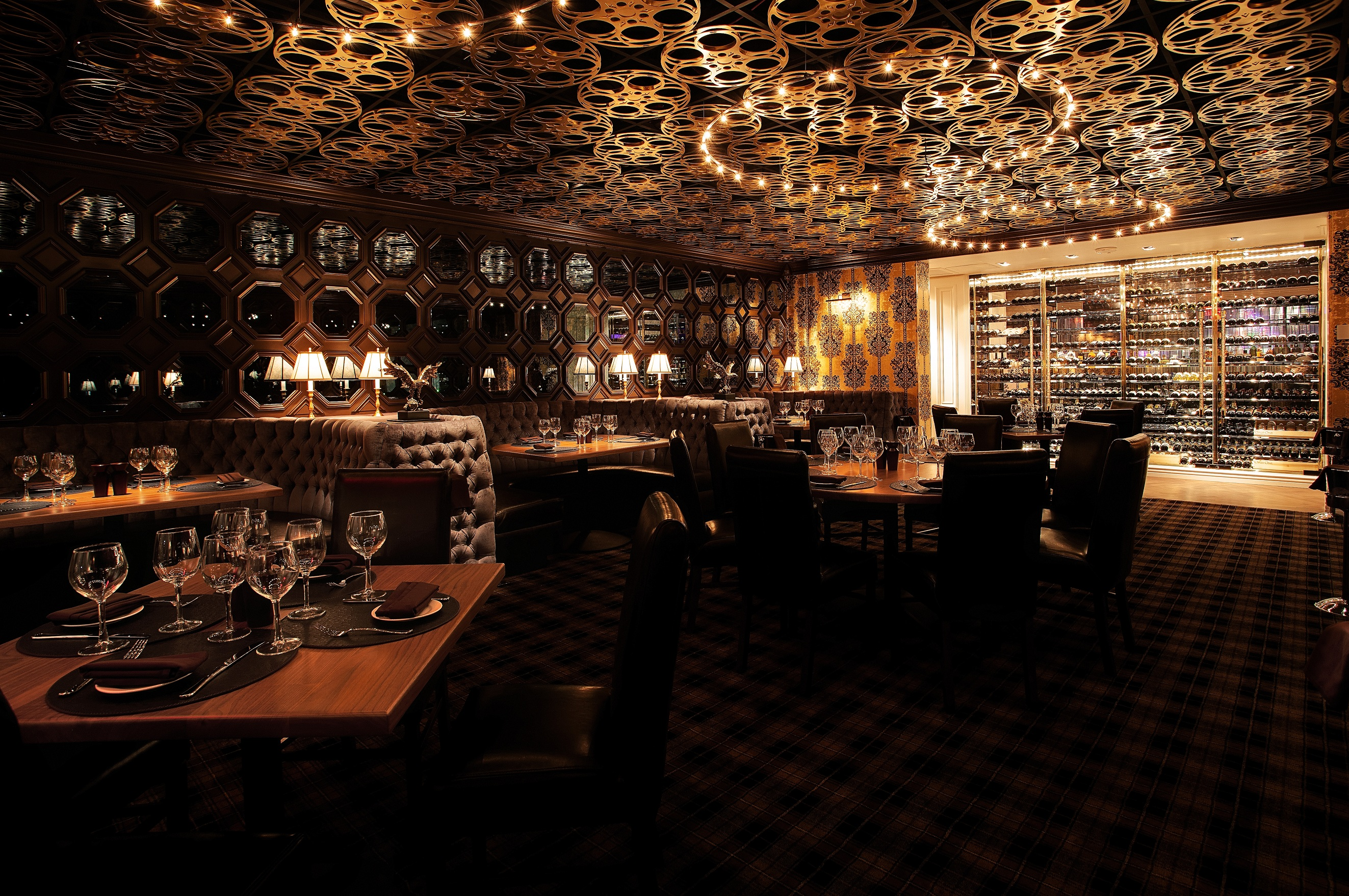 Chandelier Bar Las Vegas at Home and Interior Design Ideas
