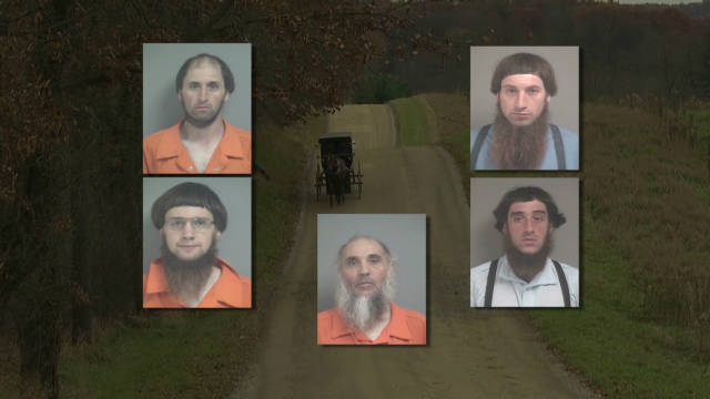 'Cult' linked to Amish attacks