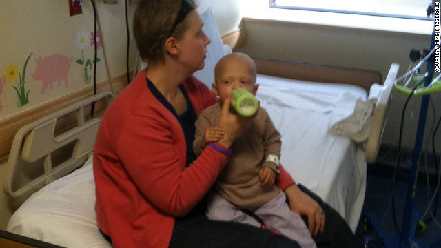 Saoirse Fitzgerald has spent the last six months of her life getting chemotherapy and staying in hospitals.