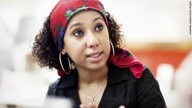 Afrah Nasser, Yemeni blogger and activist.