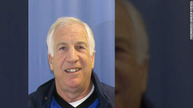 Ex-Penn State assistant coach Jerry Sandusky was sentenced to at least 30 years in prison for 45 counts of child sexual abuse.