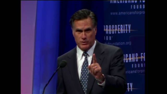 Romney's proposed cuts