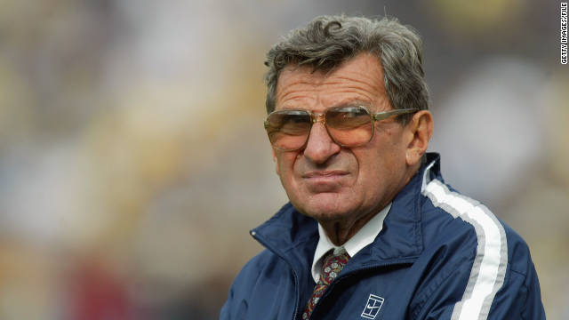 Joe Paterno is in a unique position to educate the nation, Jeffrey Pollard says.