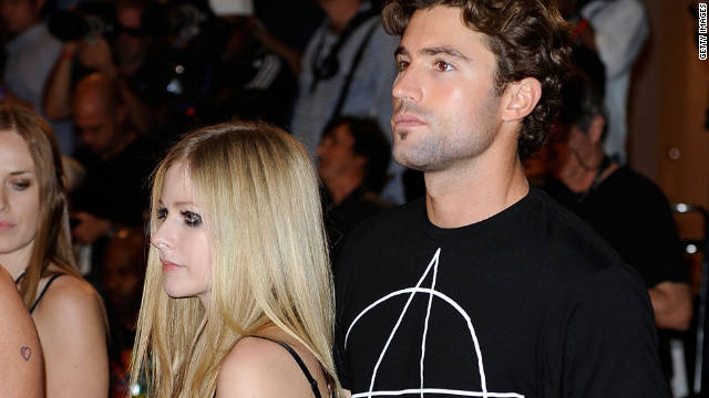 """It really upsets me to read all the FALSE!! stories,"" Brody Jenner wrote about Avril Lavigne."