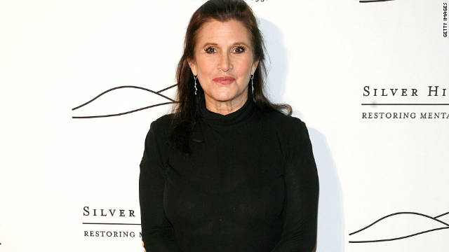 Carrie Fisher spoke at Thursday's Silver Hill Hospital gala at Manhattan's Cipriani 42nd Street, extolling the virtues of the facility.