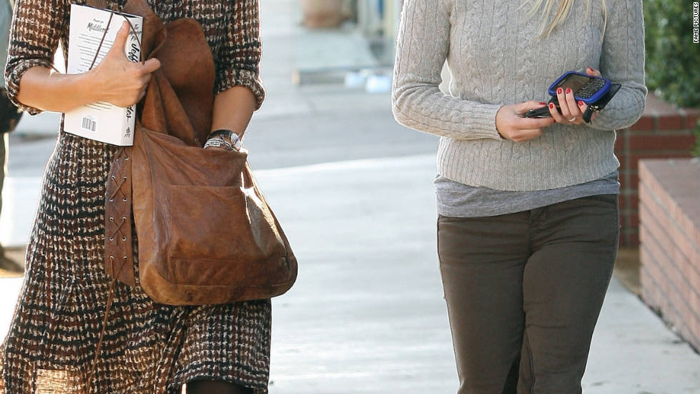 Reese Witherspoon roams around Brentwood.