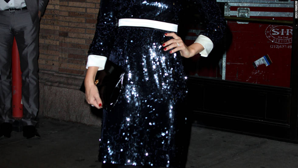 Jessica Alba attends a gala in New York City.