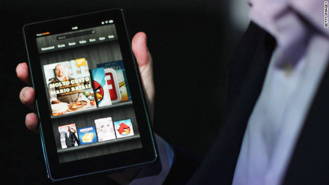 The Amazon Kindle Fire tablet is the top-selling device in the Kindle lineup.