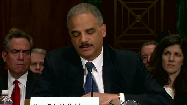 Holder: Fast and Furious unacceptable