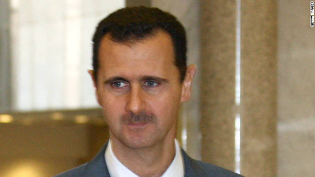 Bashar al-Assad is the president of Syrian.