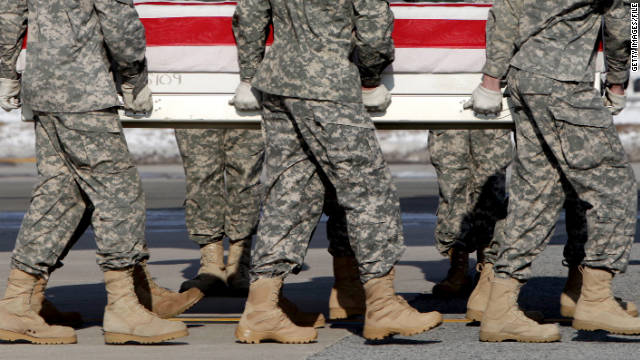 U.S. troops' remains end up in landfill