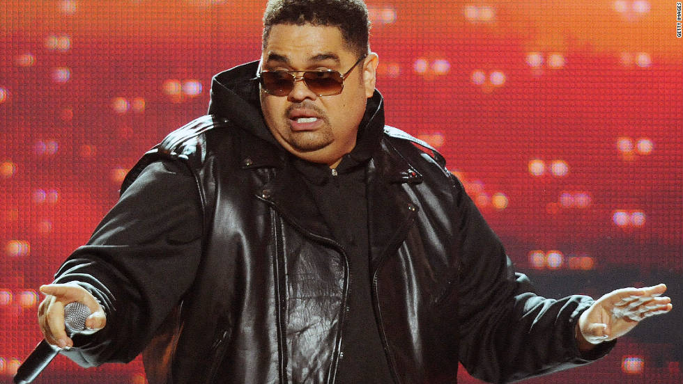 "Rapper Heavy D, born Dwight Arrington Myers, died November 8 at the age of 44. Officials say a pulmonary embolism killed the rapper. <a href=""http://news.blogs.cnn.com/2011/11/08/rapper-heavy-d-dead-coroner-says/"">Full story </a>"