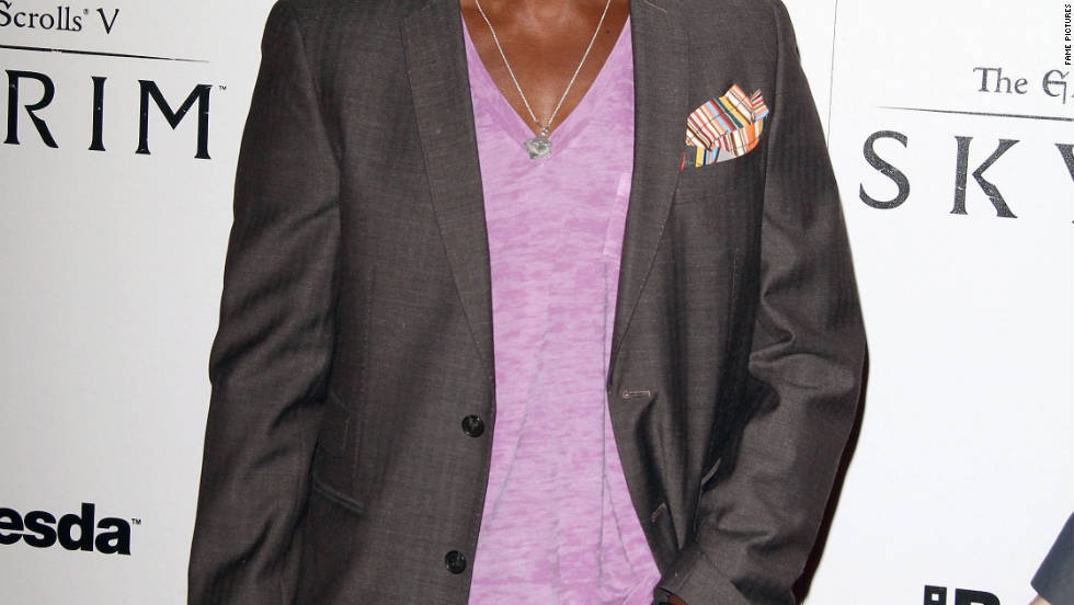Taye Diggs attends a party in Los Angeles.