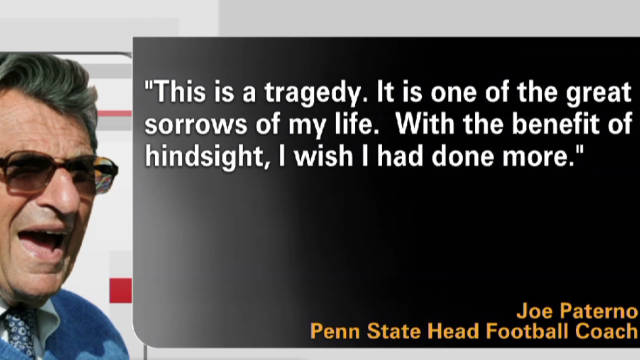 Joe Paterno to resign at end of season