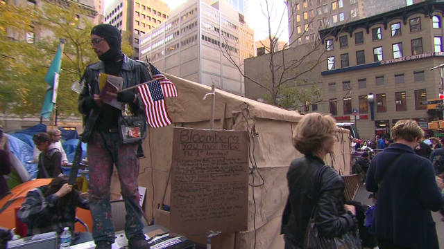 Safety concerns at Occupy Wall Street