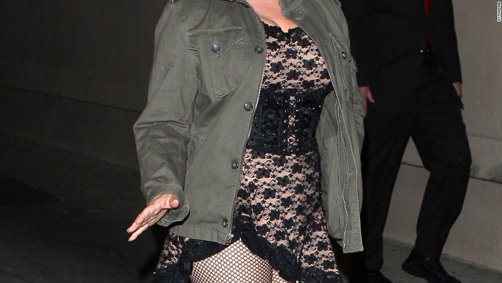 "Nancy Grace leaves ""Jimmy Kimmel Live"" in Hollywood."