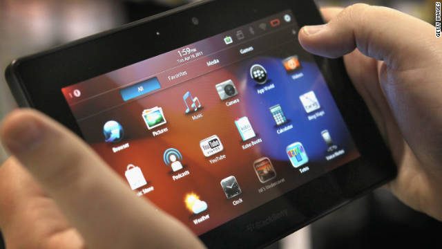The BlackBerry PlayBook was marketed as a Flash-capable tablet.