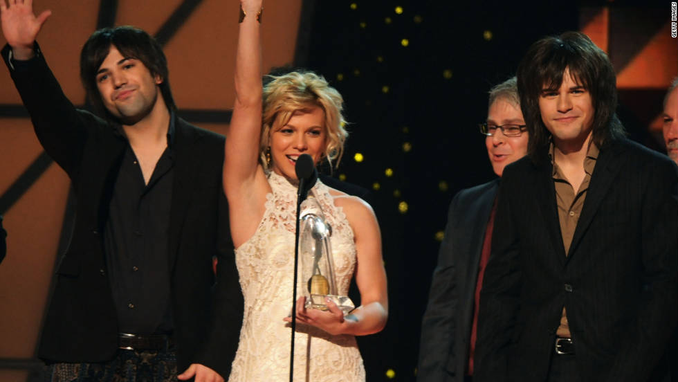 "Siblings Reid, Kimberly and Neil Perry of The Band Perry won three CMA Awards. Their hit ""If I Die Young"" earned them single and song of the year. The group also grabbed the award for best new artist."