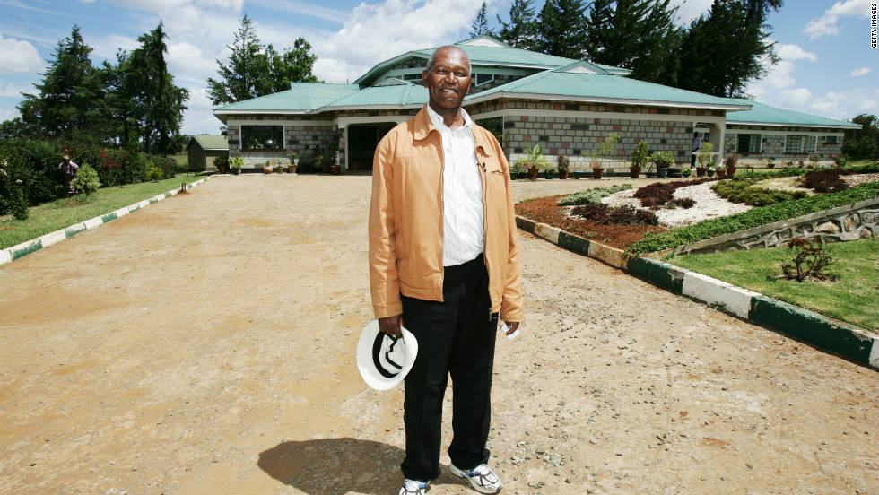 Kip Keino stands outside the elite sporting academy that bears his name. The facility was opened in 2007 with the aim of helping promising young Kenyan athletes to fulfill their potential.