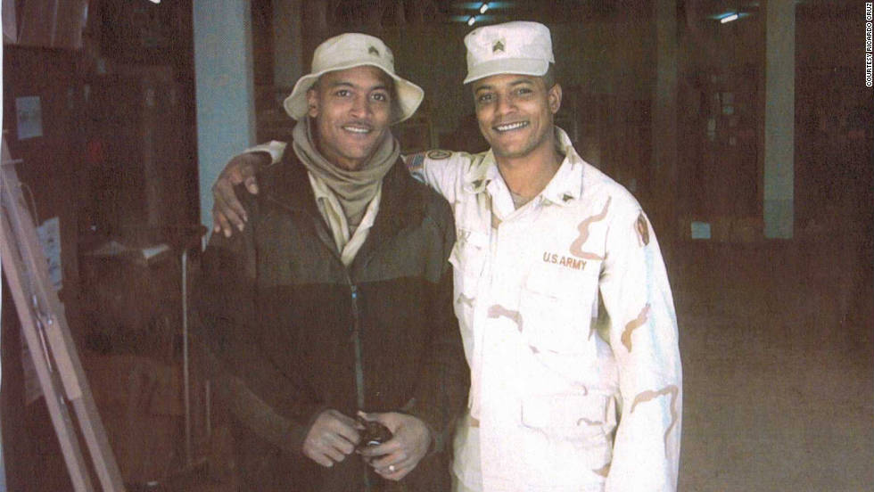 "Ricardo Cruz served in the U.S. Army for thirteen years <a href=""http://ireport.cnn.com/docs/DOC-701364"">along with his brother</a>, Andres, who is still in the Army and currently stationed at the White House. ""It is very important to me that the world honor those who so willingly risk their lives, their health, their ""everything"" to ensure a better way of life for the next generation,"" he wrote in his tribute. ""Too often we don't get the recognition, the credit, the honor that we deserve."""