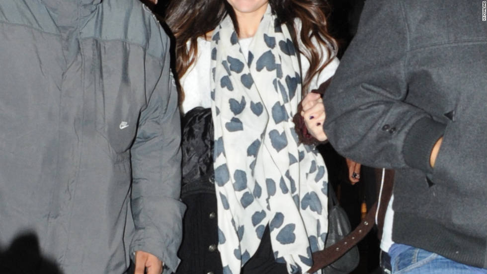 Selena Gomez goes shopping in Paris, France.