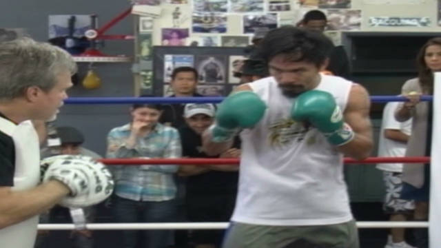 Pacquiao looks ahead to his title fight