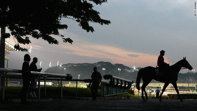 Kranji racecourse hosts the Singapore Gold Cup on Sunday.