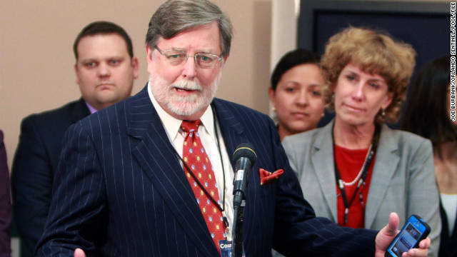 Casey Anthony's co-counsel Cheney Mason was rushed to a Florida hospital on Friday.