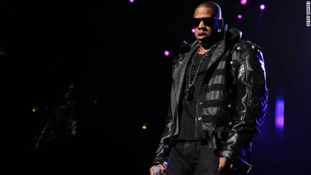 Recording artist Jay-Z performs onstage at Madison Square Garden on March 2, 2010 in New York City.