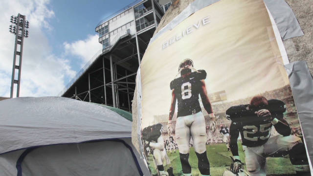 Penn State ready to play without Paterno