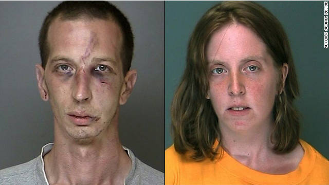David Laffer, left, and his wife Melinda Brady pleaded guilty in September to charges related to an armed robbery.