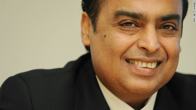 "Mukesh Ambani, India's richest man, says ""leadership [that] reflects our demographics,"" should be a top priority for the country."