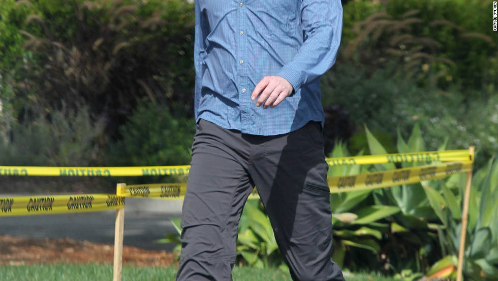 Conan O'Brien goes for a walk in Los Angeles.