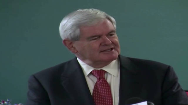 Gingrich on poll surge:  No longer dead