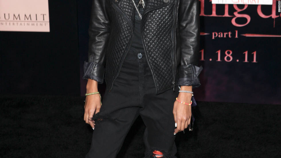 "Willow Smith attends the ""Breaking Dawn: Part I"" premiere in Los Angeles."
