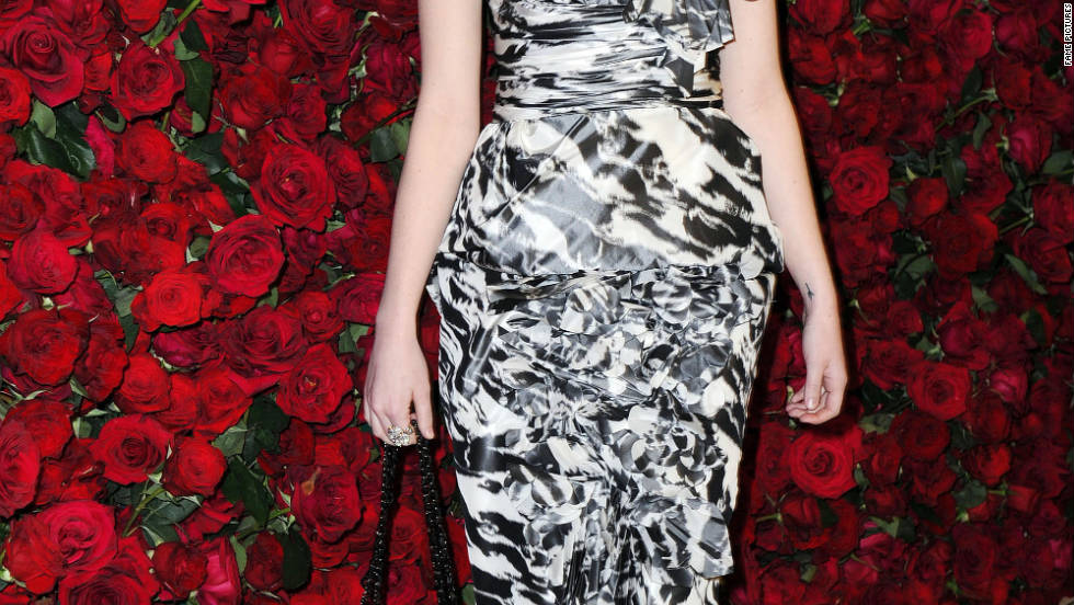 Emma Stone attends The Museum of Modern Art Benefit in New York City.