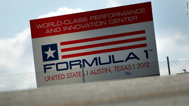 The purpose-built circuit in Texas was due to host a round of the Formula One world championship from 2012 onwards.
