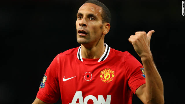 Manchester United's Rio Ferdinand has reacted angrily to FIFA president Sepp Blatter's comments.