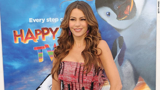 """My mother always told me to make the last water in your shower really cold,"" Sofia Vergara says."
