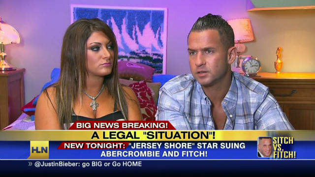 'Jersey Shore' star sues Abercrombie