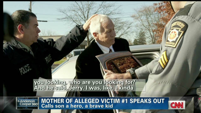 Alleged Penn State victim's mother talks