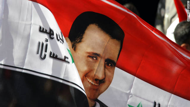 Syrians turned out in support of President Bashar al-Assad during a rally in Damascus on Sunday, but can he hold on?