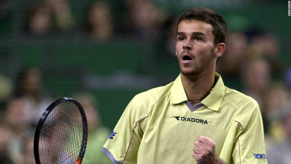 Gustavo Kuerten won the 2000 Masters Cup after beating Sampras and Andre Agassi in successive matches. The Brazilian snatched the year-end No. 1 spot from Russia's Marat Safin.